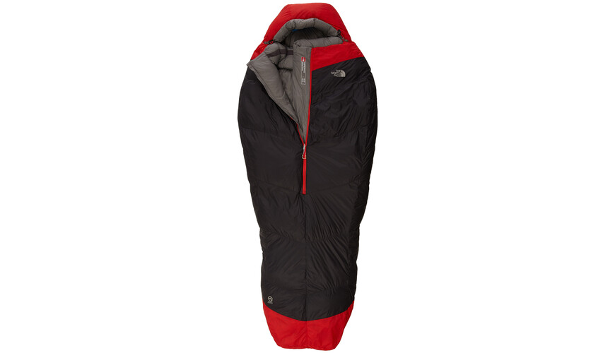 The North Face Inferno -40F/-40C Long Asphalt Grey/Centennial Red